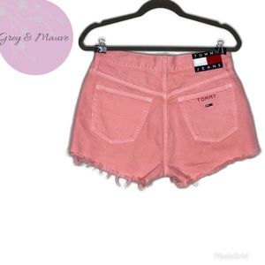 Tommy Jeans 90s  Pink High Waist Denim Shorts| 27